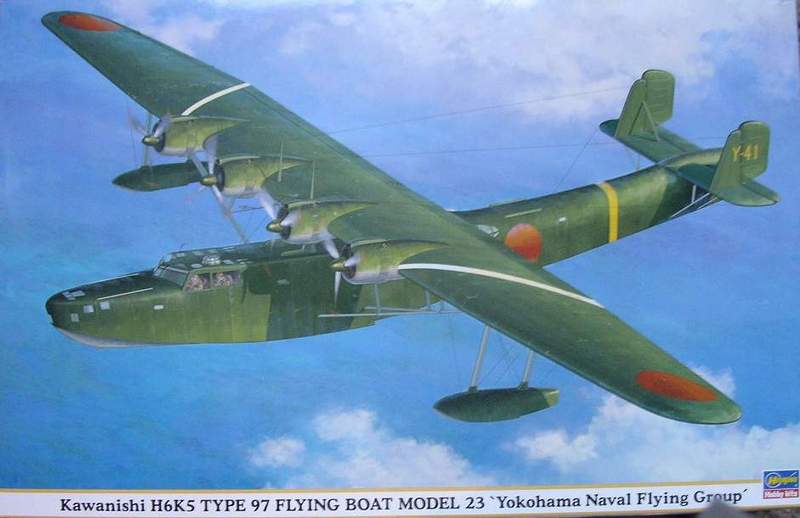 Hasegawa Kawanishi H6K5 Type 97 - The modeling dutchman