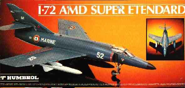 Heller AMD Super Etendard - The modeling dutchman